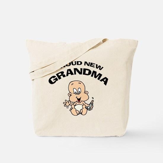 Proud New Grandma Tote Bag