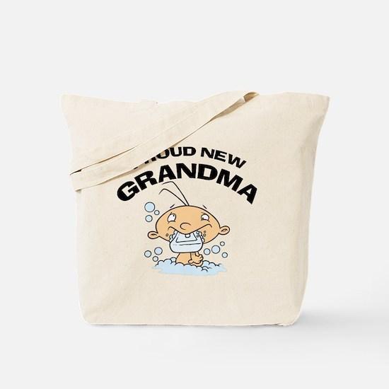 Funny New Grandma Tote Bag