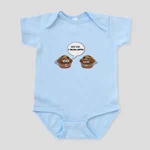A talking muffin! Infant Bodysuit