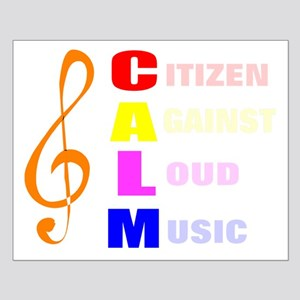 Citizen against loud music Small Poster