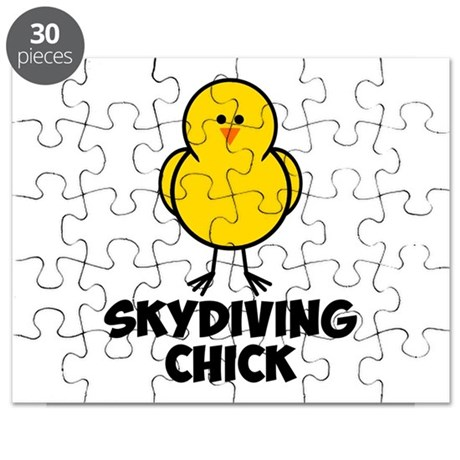 Skydiving Chick Puzzle