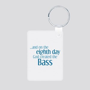 Creation of the Bass Aluminum Photo Keychain