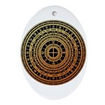 Feng shui1 Ornament (Oval)