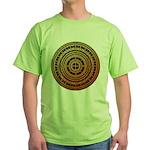 Feng shui1 Green T-Shirt