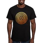 Feng shui1 Men's Fitted T-Shirt (dark)