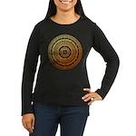 Feng shui1 Women's Long Sleeve Dark T-Shirt