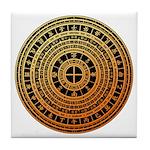 Feng shui1 Tile Coaster