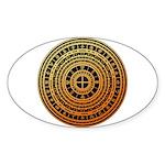 Feng shui1 Sticker (Oval)