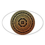 Feng shui1 Sticker (Oval 10 pk)