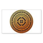 Feng shui1 Sticker (Rectangle)