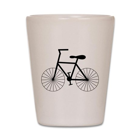 Cycling Design Shot Glass