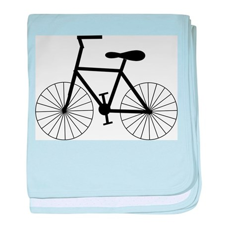 Cycling Design baby blanket
