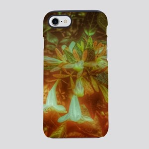Tiny White Flowers iPhone 7 Tough Case