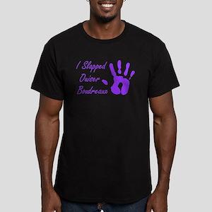 I Slapped Ouiser Men's Fitted T-Shirt (dark)