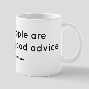 'Good Advice' 11 oz Ceramic Mug