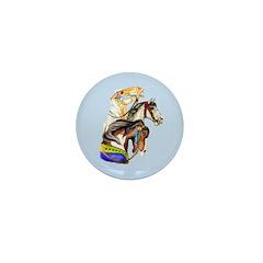 Carousel Horses Mini Button (10 pack)