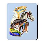 Carousel Horses Mousepad