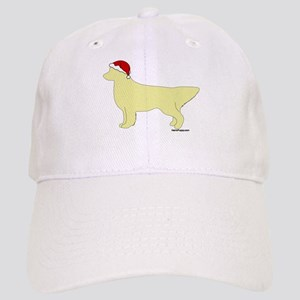 Golden Retriever Santa Cap