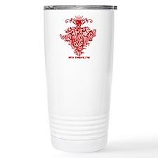 Mistletoe Stainless Steel Travel Mug