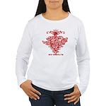 Mistletoe Women's Long Sleeve T-Shirt