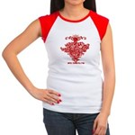 Mistletoe Women's Cap Sleeve T-Shirt