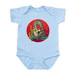 Dragon guitar (a) Infant Bodysuit