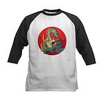 Dragon guitar (a) Kids Baseball Jersey