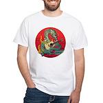Dragon guitar (a) White T-Shirt