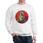 Dragon guitar (a) Sweatshirt