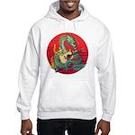 Dragon guitar (a) Hooded Sweatshirt