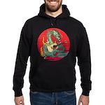 Dragon guitar (a) Hoodie (dark)