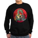 Dragon guitar (a) Sweatshirt (dark)