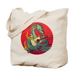Dragon guitar (a) Tote Bag