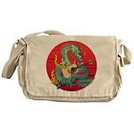 Dragon guitar (a) Messenger Bag