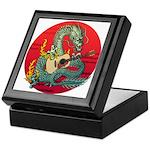 Dragon guitar (a) Keepsake Box