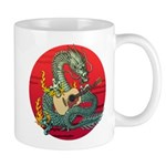 Dragon guitar (a) Mug