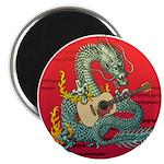 Dragon guitar (a) Magnet