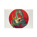 Dragon guitar (a) Rectangle Magnet
