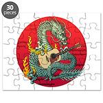 Dragon guitar (a) Puzzle