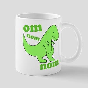 om NOM NOM dinosaur chomps Mug