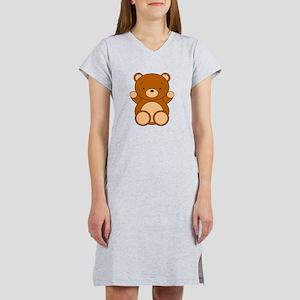 Cute Cartoon Bear Women's Nightshirt