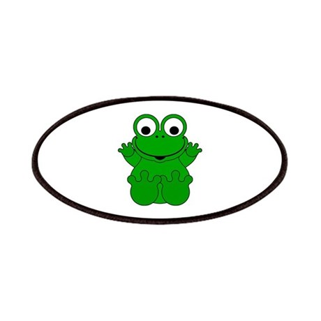 Cute Cartoon Frog Patches