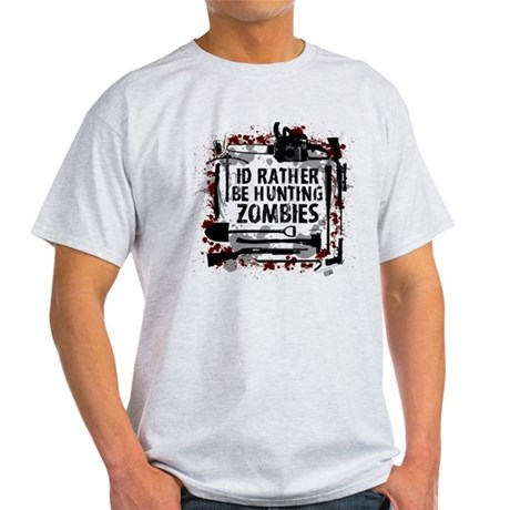 Hunting Zombies Light T-Shirt