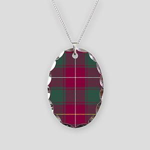 Tartan - MacFie Necklace Oval Charm