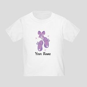 Customized Ballet Slippers Toddler T-Shirt