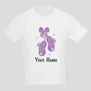 Customized Ballet Slippers Kids Light T-Shirt
