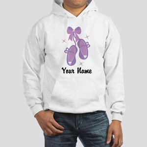 Customized Ballet Slippers Hooded Sweatshirt