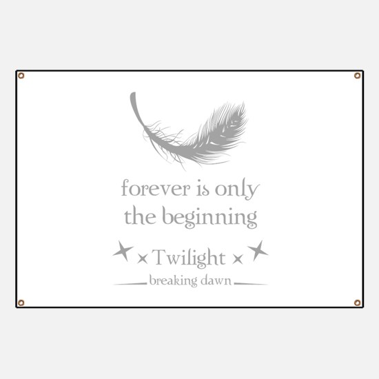 Forever is only the beginning Banner