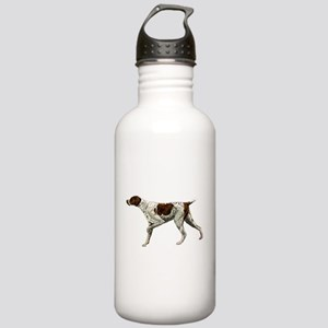 german shorthair pointing Stainless Water Bottle 1