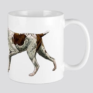 german shorthair pointing Mug